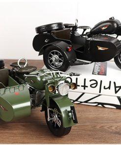 Mô hình sidecar 3 bánh phong cách cổ điển