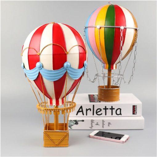 Mô hình trang trí khinh khí cầu dùng trang trí quán cafe, quán bar