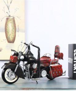 Mô hình xe máy cổ điển bằng sắt 45x16x26