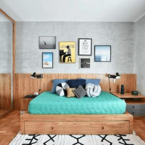 40 ý tưởng trang trí phòng ngủ cho nam