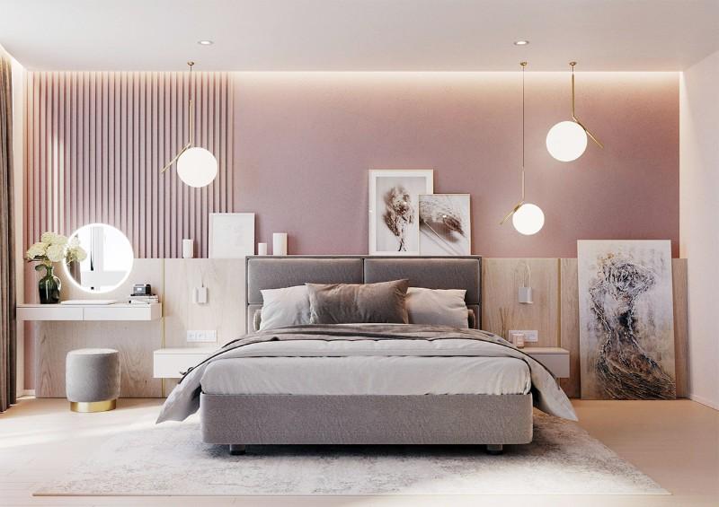 Decor phòng ngủ cần phải có điểm nhấn