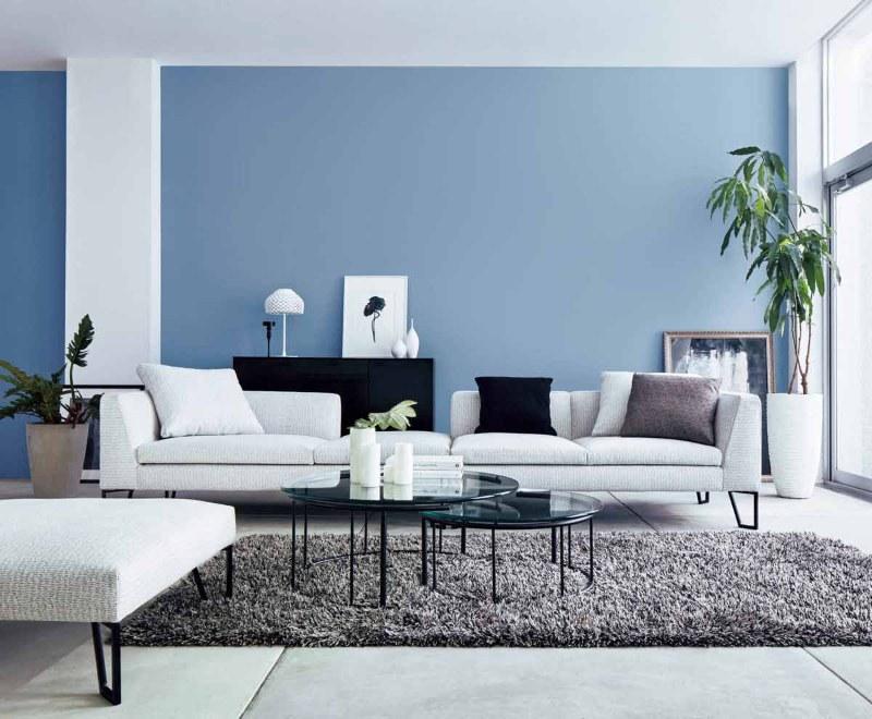 Lựa chọn màu sơn ấn tượng cho phòng khách chung cư