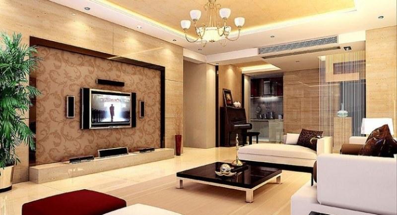 Trang trí phòng khách chung cư hiện đại bằng đồ nội thất