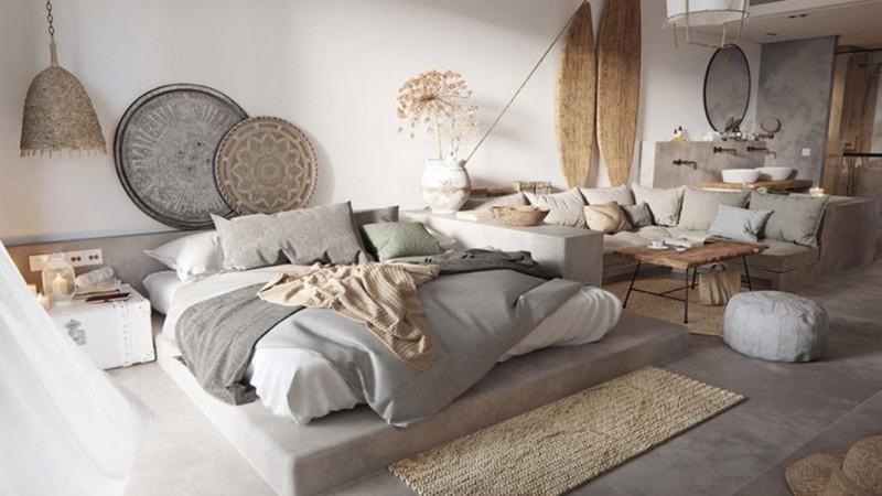 Lựa chọn màu sắc chủ đạo cho phòng ngủ