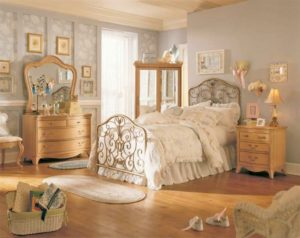 Sử dụng ánh sáng từ những bóng đèn để tráng trí phòng ngủ