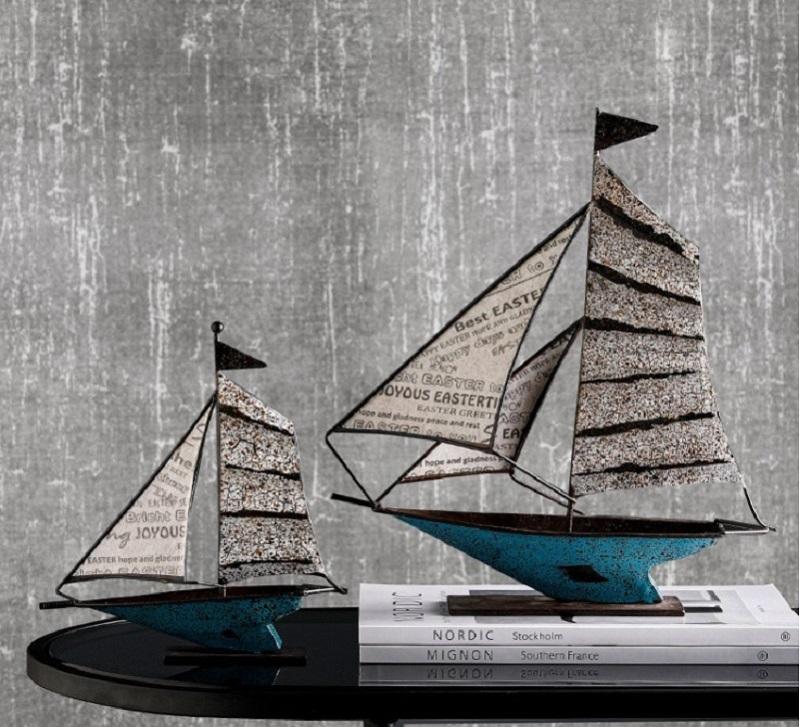 Decor thuyền buồm mang ý nghĩa tốt cho mọi gia chủ sở hữu