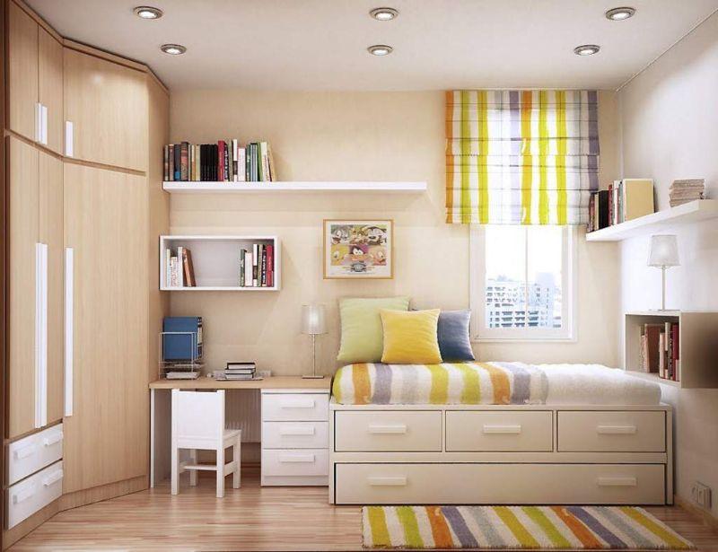 Nên đặt tủ quần áo ở vị trí nào trong không gian phòng ngủ