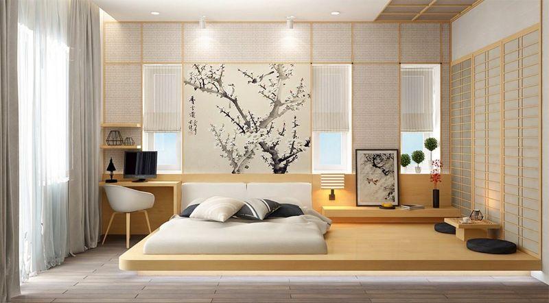 Nên thiết kế ban công hoặc cửa sổ trong không gian phòng ngủ